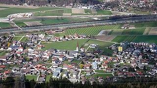 Volders Place in Tyrol, Austria