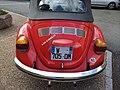Volkswagen 1303 rouge à Saint-Just-d'Avray pour la Fête des classes 2 (mai 2019).jpg