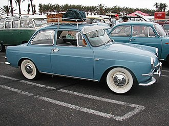 Volkswagen - A 1963 VW Type 3 Notchback