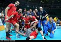 Volleyball, match between Iran and Egypt at the Olympic Games in 2016 08.jpg