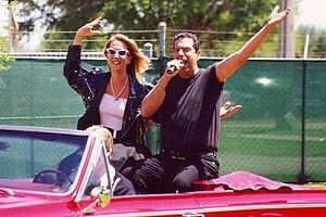 "Jon Bauman - Bauman with Peggy ""Sue"" Papadonski, 2000"