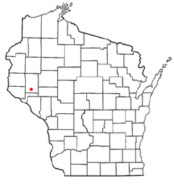 Location of Dunn, Wisconsin