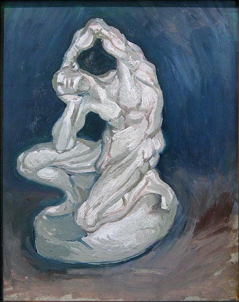 File:WLANL - artanonymous - Plaster Statuette of a Kneeling Man.jpg