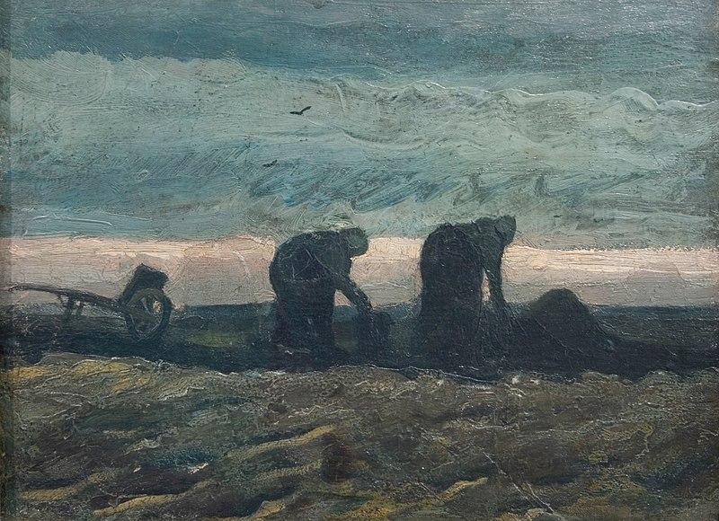 File:WLANL - h3m3ls - Vincent van Gogh Two women in the moor 1883.jpg