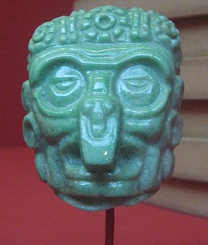 Jade use in Mesoamerica - Maya pendant in the Los Angeles County Museum of Art