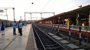 Shoranur Junction railway station -