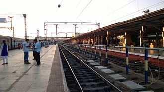 Shoranur Junction railway station - Image: WP 20131223 002