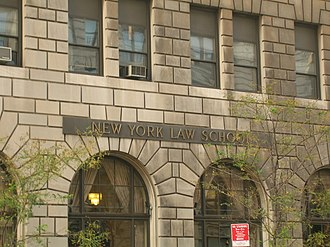 New York Law School - Image: WSTM Mark Frank 0050
