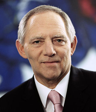 President of the Bundestag - Image: W Schaeuble