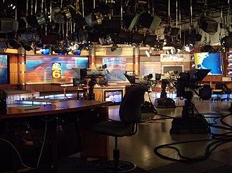 WTVJ - WTVJ's former set.