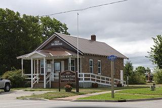 Wawatam Township, Michigan Civil township in Michigan, United States