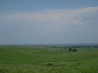 Kansas - Flint Hills in Wabaunsee County