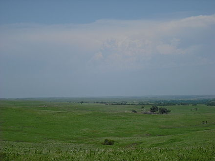 Flint Hills in Wabaunsee County Wabaunsee County View.JPG