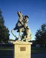 Wagons Ho! statue, Pendleton, Oregon LCCN2011630045.tif