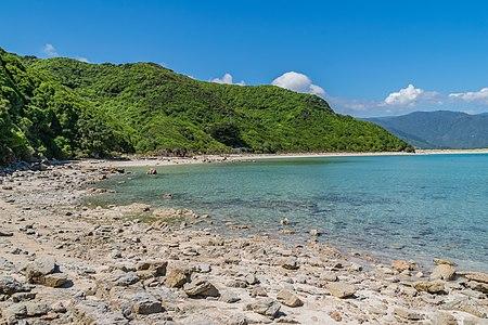 Wainui Bay in Tasman Region, South Island of New Zealand