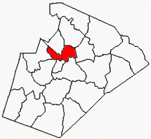 House Creek Township, Wake County, North Carolina - Image: Wake County NC House Creek Township
