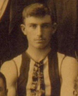 Wal Gillard - Gillard in 1896 during his Collingwood VFA career