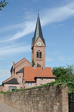 Waldaschaff, Katholische Pfarrkirche St. Michael 001