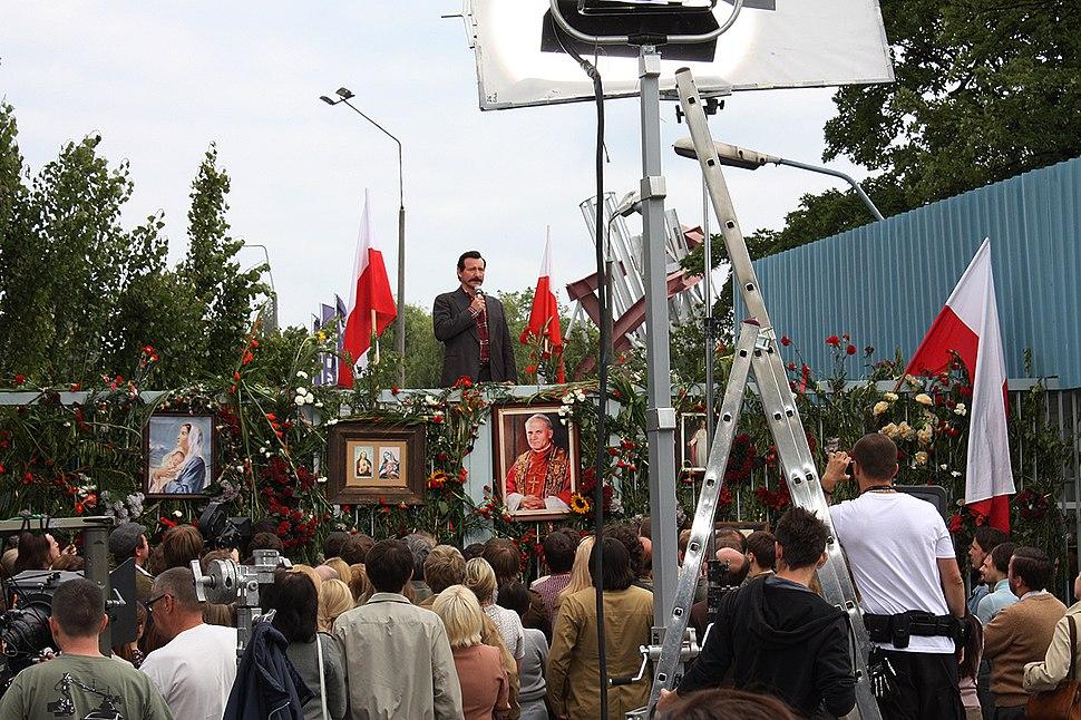 Walesa film set