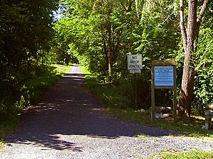 Wallkill Valley Railroad - The Wallkill Valley Rail Trail in New Paltz