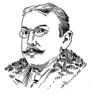 Walt McDougall - Image: Walt Mc Dougall portrait Art of Caricature