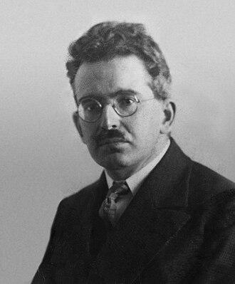 Walter Benjamin - Benjamin in 1928