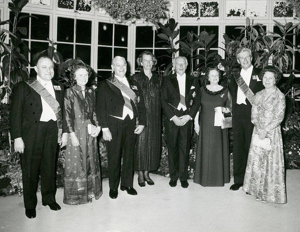 Walter Scheel in New Zealand October 1978
