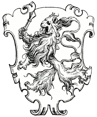 Paulus Hector Mair - Coat of arms