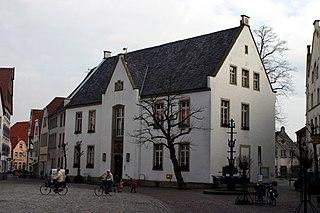 Warendorf Place in North Rhine-Westphalia, Germany