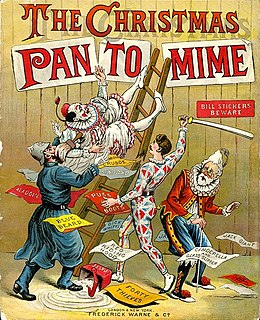 Pantomime Genre of musical comedy stage production
