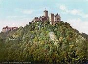 Die Wartburg bei Eisenach um 1900