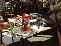 Wartime items & collection box, Liverpool Blitz 70 event - DSC09742.JPG