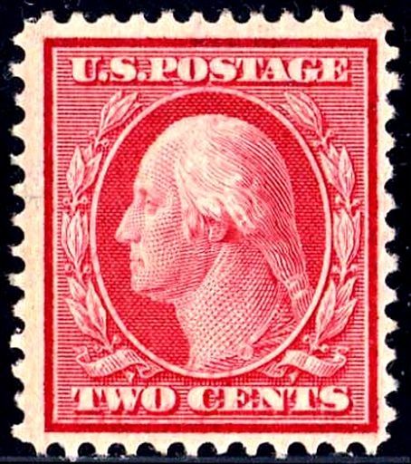 Wash Frank 1908 Issue-Two-Cent