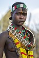 Washare from the Hamer tribe in Logara, near Turmi, Omo Valley, Ethiopia (16882803797).jpg
