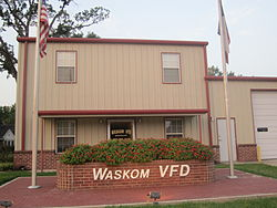 Waskom Volunteer Fire Department facility