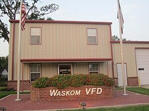 Waskom, Texas - Waskom Volunteer Fire Department facility