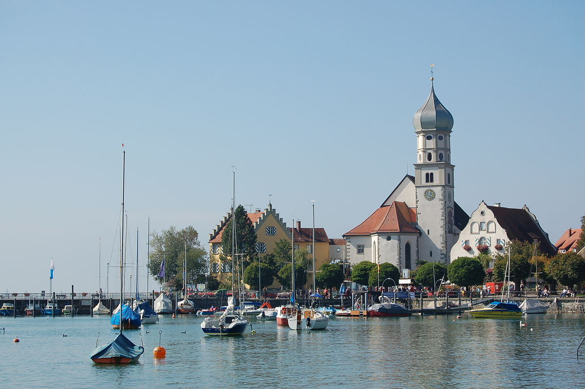 Wasserburg Am Bodensee Reisef 252 Hrer Auf Wikivoyage