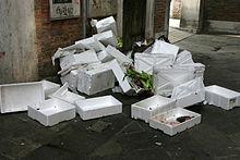 odpad polystyren