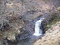 Waterfall, Allt Brunachain - geograph.org.uk - 1703588.jpg