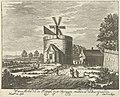 Watermolen op het landgoed van Paleis Soestdijk, Hendrik de Leth, 1725 - 1747.jpg