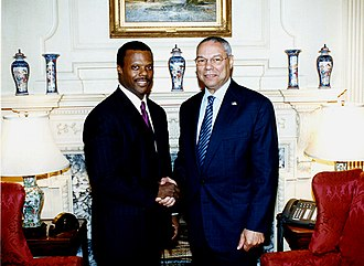 J. C. Watts - Watts meeting with Secretary of State Colin Powell on September 2, 2003