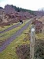 Waymarker at the junction - geograph.org.uk - 1195927.jpg