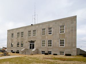 Marshfield, Missouri - Webster County Courthouse, 2006
