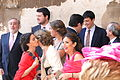 Wedding Party outside Gothic Cathedral - Seville - Spain.jpg