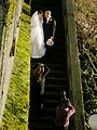 Wedding photos being taken - West Queen Anne Walls - Seattle 01A.jpg