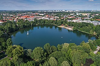 Weissensee (Berlin) - The lake Weißer See