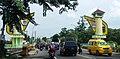 Welcome gate to city of Binjai (Binjai-Deli Serdang).jpg
