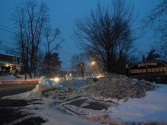 Cedar Grove, New Jersey - Pompton Avenue and Ridge Road