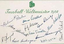 1954 Fifa World Cup Wikipedia