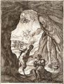 Wenceslas Hollar - The satyr and the traveller (State 2) 2.jpg